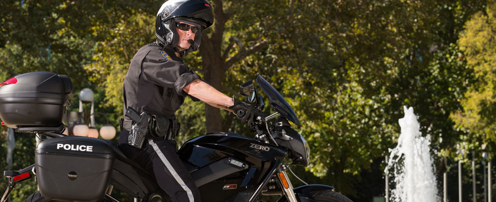 Zero Police Electric Motorcycle