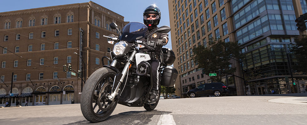 Zero sp Police Electric Motorcycle