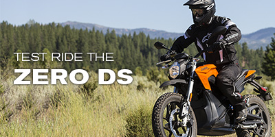 Test Ride the Zero DS