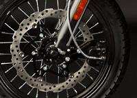 Les roues et les freins de la Zero DS