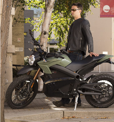 Zero DS Electric Motorcycle Charging System
