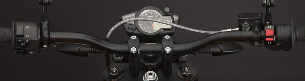 Das Cockpit der Zero DS