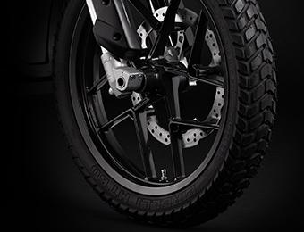 Zero DS Electric Motorcycle Wheels