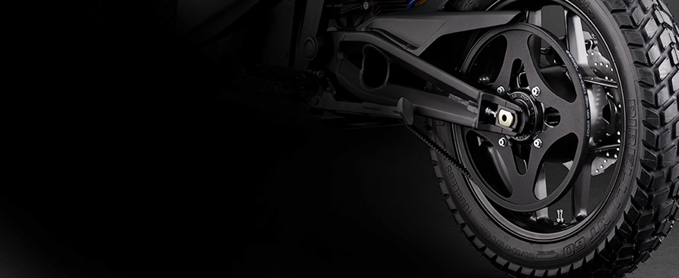 Zero DS Electric Motorcycle Drivetrain