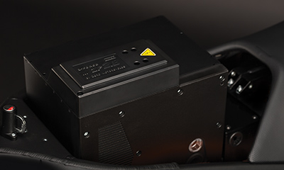 Le Z-Force® Power Tank de la moto électrique Zero DS