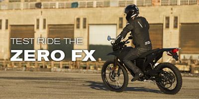 Test Ride the Zero FX