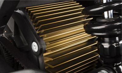 Zero FX Electric Motorcycle Motor