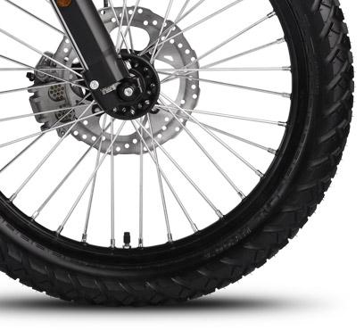 Zero FX Electric Motorcycle Wheels