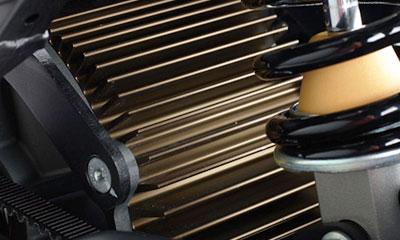 Motor elektrische Zero FX motorfiets