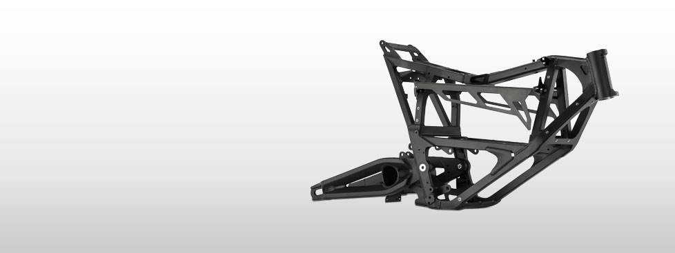 Zero FX Electric Motorcycle Frame