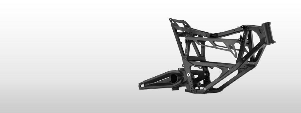 Zero FX Electric Motorcycle Frame