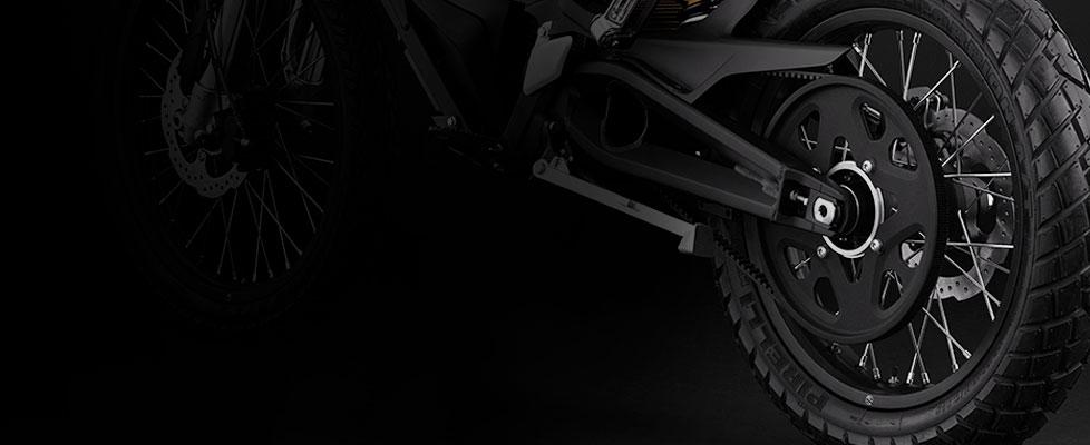 Zero FX Electric Motorcycle Drivetrain