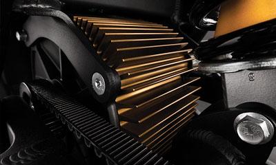 Motor de la motocicleta eléctrica Zero FX