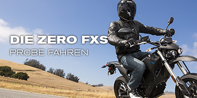 Die Zero FXS probefahren