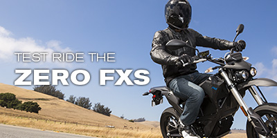 Test Ride the Zero FXS