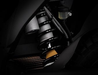 La horquilla de la motocicleta eléctrica Zero FXS
