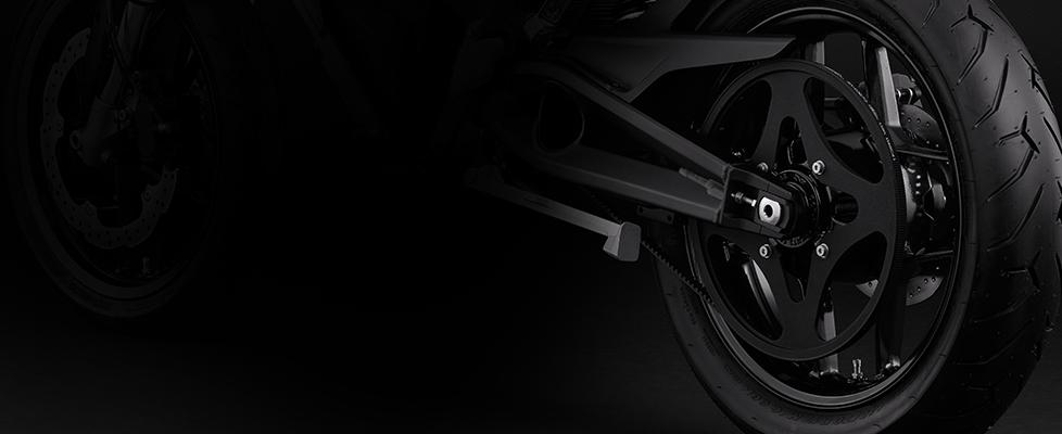 Zero FXS Electric Motorcycle Drivetrain