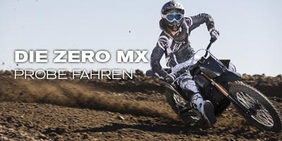 Die Zero MX probefahren