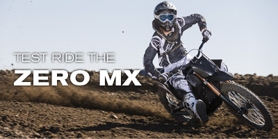 Test Ride the Zero MX