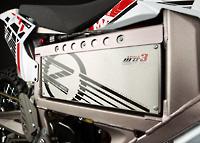 Akku des Elektromotorrads Zero MX