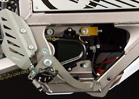 Motor des Elektromotorrads Zero MX