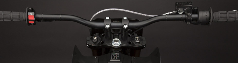 Zero MX Electric Motorcycle Dashboard