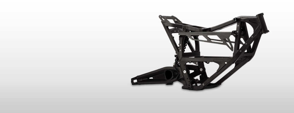 Zero MX Electric Motorcycle Frame