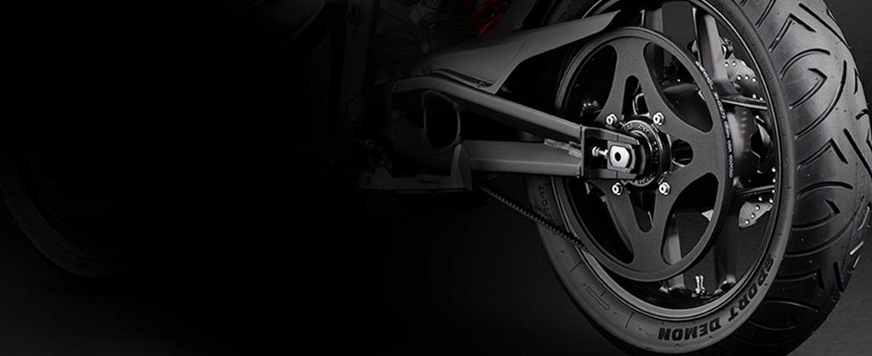 Zero S Electric Motorcycle Drivetrain