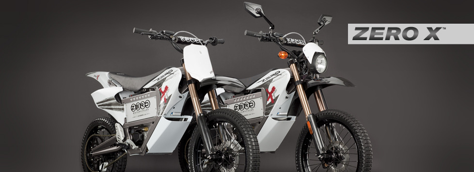 2011 Zero X Electric Motorcycle