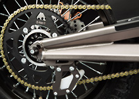 Zero X Electric Motorcycle Drivetrain