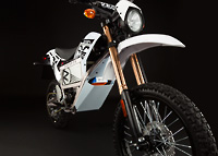 Zero X Electric Motorcycle front suspension