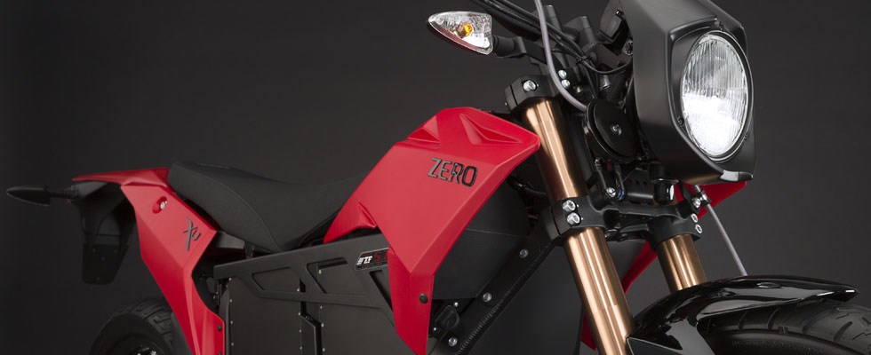 2013 Zero XU Electric Motorcycle