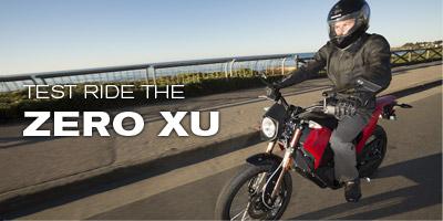 Test Ride the Zero XU