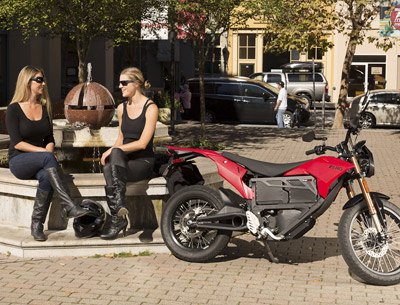 Zero XU Electric Motorcycle Charging System