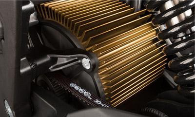 Zero XU Electric Motorcycle Motor